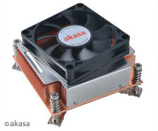 Akasa AK-CC7302BT01 2U CPU Cooler for Intel LGA1155, 1156 and 1366