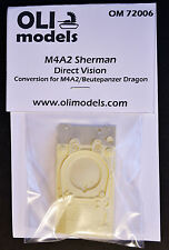 1/72 M4A2 SHERMAN Direct Vision RESIN Conversion - OLI Models 72006