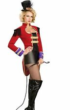 Ringmaster Costume Sexy Female Lion Tamer Circus Womens Ring Mistress
