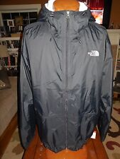 NWT Men's THE NORTH FACE Bakossi Rain Jacket Hyvent Waterproof  BLACK  2XL $129