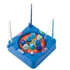 CLOCKWORK FISHING GAME ROTATING MAGNETIC CHILD TOY SHARK OR FISH DESIGN
