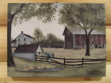 "**Primitive Country 12X16 Canvas Print - Billy Jacobs - ""The Old Springhouse""!**"