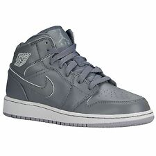 Nike Jordan Kids AJ 1 MID Basketball Shoes Boy & Girls Shoe Size 3Y