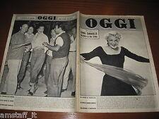 RIVISTA OGGI 1955/5=SHEREE NORTH=COSETTA GRECO=IL FESTIVAL DI SANREMO=