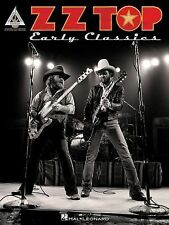 ZZ TOP - EARLY CLASSICS - HAL LEONARD (PAPERBACK) NEW