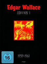 EDGAR WALLACE Edition 01 BOGENSCHÜTZE Frosch mit der Maske ROTE KREIS 4 DVD BOX
