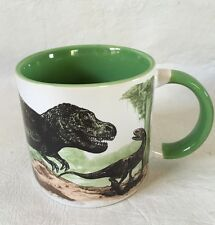Disappearing Dinosaur Mug Hot Ceramic Coffee Cup Unemployed Philosophers Guild