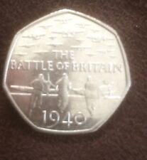 Battle Of Britain 1940 50p Coin Limited Edition 2015 rare Collectors Item
