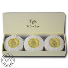 Taylor of Old Bond Street Sandalwood Hand Soap Gift Box 3 x 100 g (7140)
