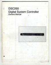 JBL DSC260 - OWNERS MANUAL ( ORIGINAL BOOK )