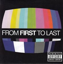 FROM FIRST TO LAST Self Titled CD - New
