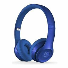New Original Beats by Dr. Dre Solo 2 Headband Wired Headphones - Blue Sapphire