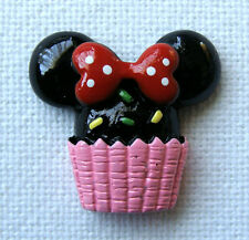 Handmade Needle Minder Keeper Cross Stitch Minnie Mouse #B23 / Fridge Magnet