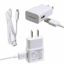 For Galaxy S4/ Mini/ Active OEM Original Samsung 2 AMP Rapid Wall Charger Cable