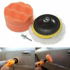 3X 4'' Gross Polish Polishing Buffer Pad Kit With Drill Adapter For Car Polisher