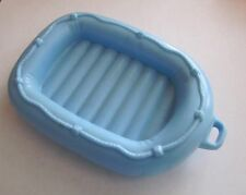 New FISHER PRICE Loving Family Dollhouse BLUE RAFT for BOAT SWIMMING CAMPING SET