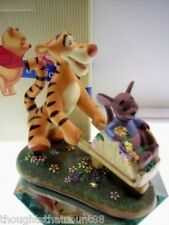 Pooh & Friends TIGGER & ROO Figurine SPRINGTIME IS NIB * FREE USA SHIPPING