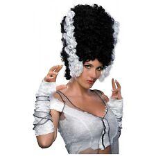 Bride of Frankenstein Wig Adult Womens Halloween Costume Fancy Dress