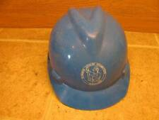 Vintage MSA V Guard Hard Hat Union Local 50 Plumbers Steamfitters MCA Toledo OH