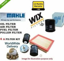 FOR RENAULT GRAND SCENIC 1.9DCi 2004-> OIL AIR FUEL POLLEN  FILTER SERVICE KIT