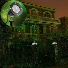 Red Green Laser Firefly Starry Shower Outdoor Laser Light Projector Garden Party