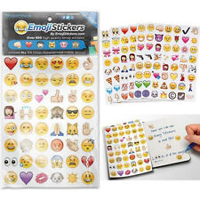 1Set 3M Waterproof Emoji Sticker Pack of 19, 912 of the Most Popular Emojis