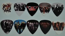 AEROSMITH GUITAR PICKS 10 LOT SET NEW DOUBLE SIDED IMAGE PICTURE FREE SHIPPING