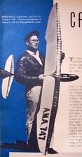 Vintage THERMIC 100 Zaic's Famous OT Very First RC Glider Model Airplane PLANS