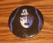 """Kiss Button 80s Pin 2 1/4"""" Ace Frehley"""
