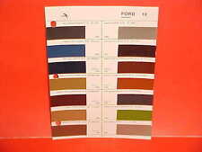 1980 1981 1982 FORD MUSTANG LINCOLN CONTINENTAL MERCURY GLASURIT PAINT CHIPS