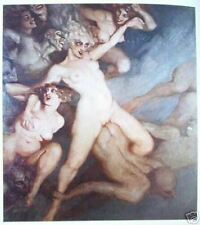 *** 1976 1st SIREN AND SATYR Norman Lindsay with 78 plates - FREE SHIPPING