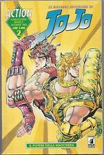 MANGA - Le Bizzarre Avventure di Jojo N° 2 - Action 2 Star Comics USATO Suff