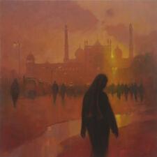 """Marca Original Harrison """"noche oraciones, la mezquita Jama masji"""" islámico pintura al óleo"""
