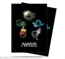 Mana Symbols series 4 (80) Ultra Pro Deck Protector Card Sleeves for MTG cards