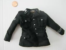 IN THE PAST TOYS WWII German 1/6 scale black wool tunic