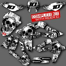 2008 2009 2010 2011 2012 2013  HUSQVARNA TE 250-310 GRAPHICS KIT MX DECALS DECA