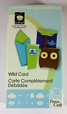 Cricut WILD CARD Cartridge Collection - Use with all Cricut machines #29-0591