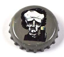 Raven Beer Bier Edgar Allan Poe Tapa de Botella EE.UU. Soda botella Cap gris