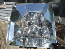 Sun Dome Solar Cooker and Oven Cooking Kit -- for Patio, Camping, RV, Offgrid
