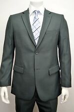 Men's Charcoal Gray Classic Fit Dress Suit Size 46S NEW Suit
