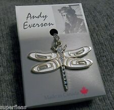 NEW Pacific Northwest Comox Indian Art Design by Andy Everson DRAGONFLY NECKLACE