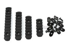 Hunting Handguard Polymer Picatinny Rail Sections Set for MOE Hand Guard BLACK