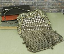 Antique Turn of Century Gorham Sterling Silver Mesh Purse B570M
