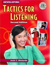 Developing Tactics for Listening: Student Book with Audio CD (Tactics for Listen