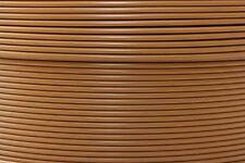 1 m Bowdenzughülle cappuccino braun für Bremszüge