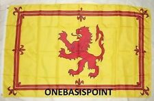 3'x5' SCOTLAND ROYAL RAMPANT LION FLAG SCOTTISH KING OF SCOTS ARMS KINGDOM 3X5