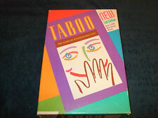 TABOO: THE GAME-OF-UNSPEAKABLE-FUN FOR THE FAMILY!   BY -M B GAMES 1994