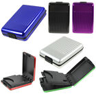 1pc Aluminum Metal Waterproof Box Case Business ID Credit Card Holder Wallet New