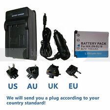 Battery +Charger for Nikon Coolpix S2600, S2700, S2800, S2900 Digital Camera