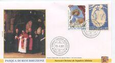 ENVELOPPE VISITE DU PAPE JEAN PAUL II / POSTE VATICANE 2001